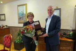 Поздравителен адрес от кмета Гунински получи ИМ Правец