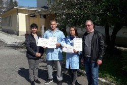 "Десетокласници от ПГТМ ""Христо Ботев"" представиха достойно своето училище и Ботевград в състезанието ""Мога и зная как"""