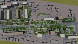 """Идейното решение за благоустрояване на бул. """"Цар Освободител"""" е разработено от трима архитекти  в общинската администрация"""