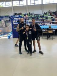 9-годишният Радослав Николаев със сребърен медал на състезание по кикбокс