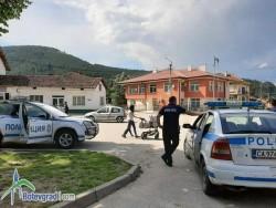 Засилено полицейско присъствие във Врачеш