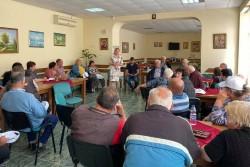 Кандидат-депутати от листата на коалиция ГЕРБ - СДС за Софийска област се срещнаха с жители на Трудовец и Врачеш