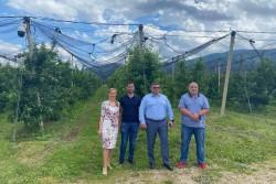 Кандидатите за народни представители от листата на ГЕРБ-СДС за Софийска област проведоха срещи в Скравена, Радотина и Гуркова