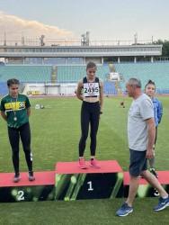 Михаела Гаврилова стана двойна шампионка на България