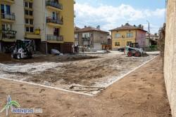 """Започна благоустрояване на пространството около блокове 1, 2 и 3 в ж.к. """"Васил Левски"""""""