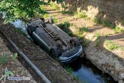Мерцедес падна в Стара река /допълнена/