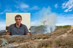 Кметът на общината с призив към гражданите да спазват противопожарните изисквания