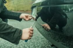 Откраднаха регистрационните табели на лек автомобил, собственост на жител на Новачене