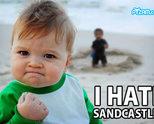 Мразя пясънчни замъци!
