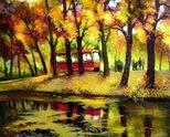 трамвай и есен
