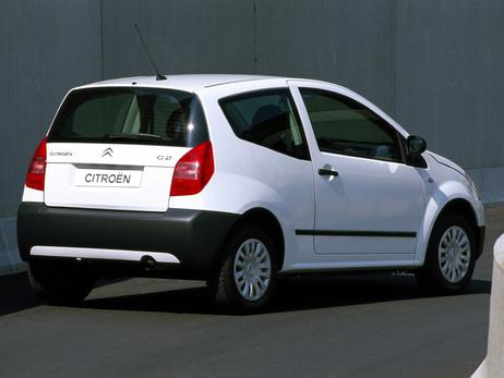 Ситроес С2 - единствената кола която харесвам в бяло