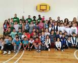 """Баскетболисти на Балкан тренираха с ученици fот училище """"Св. Св. Кирил и Методий"""""""
