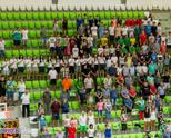 Отбори на подрастващи от страната с безплатен вход на България - Финландия
