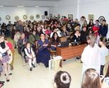 Препълнена зала за празничното честване на Въведение Богородично